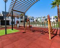 childrens play area in communal grounds of these new apartments for sale costa blanca