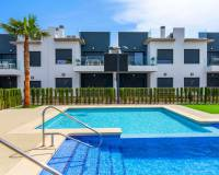 communal pool of lamar house properties for sale torre de la horadada from real estate guardamar